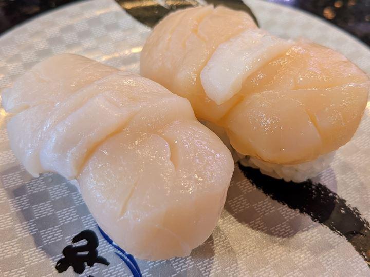 Scallop ほたて Sushi CHOUSHIMARU すし 銚子丸 - 回転寿司 鮨