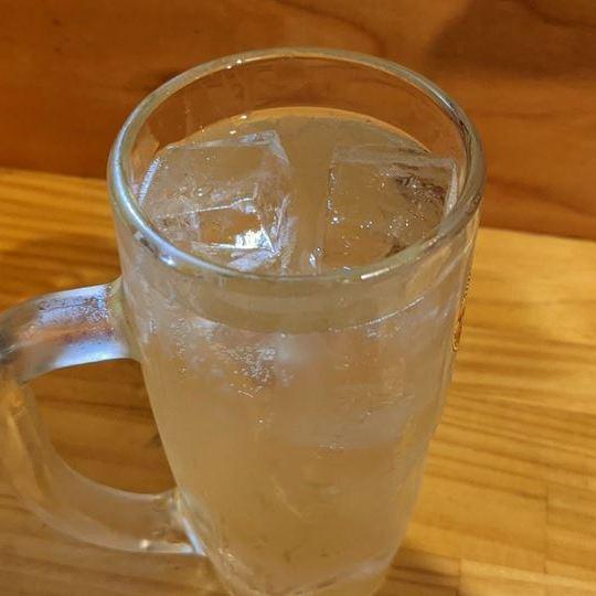 Ginger Lemon Sour ジンジャーレモンサワー - Standing Bar KAMIYA 立ち呑み かみや