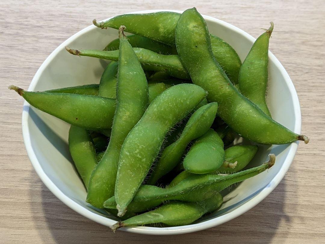 Edamame Green Soybeans 枝豆 KAPPASUSHI (KAPPAZUSHI) かっぱ寿司