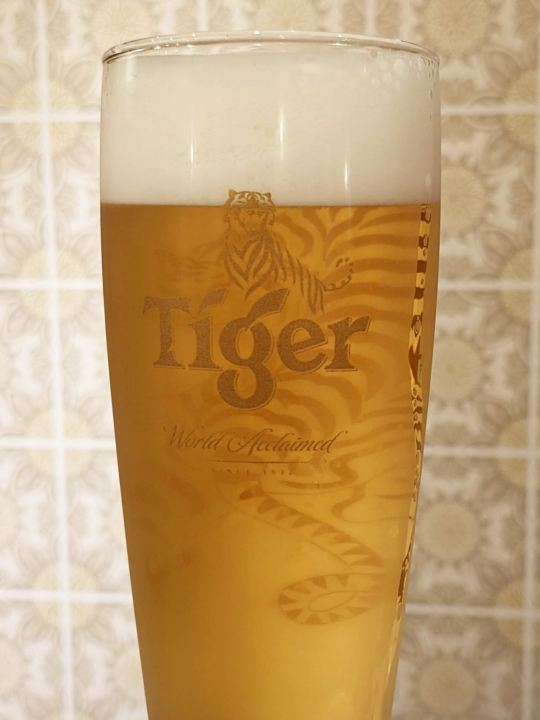 Tiger Beer タイガービール Singaporean Cafe and Bar LITTLE MERLION シンガポール カフェバー リトルマーライオン in Tokyo Japan 東京 足立区 西新井