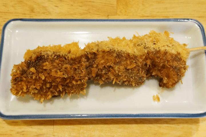 Deep Fried Breaded Japanese Shiitake Mushroom しいたけフライ - 大衆酒場 かぶら屋 Izakaya Bar KABURAYA