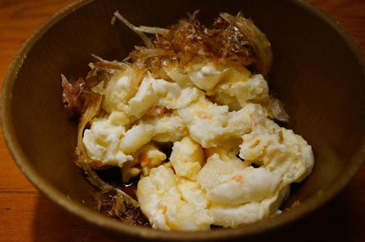 Torikizoku 鳥貴族 Potato Salad with Soy Sauce 北海道産和風ポテトさらだ