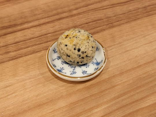 Sesame Cookie ごまクッキー Singaporean Cafe and Bar LITTLE MERLION シンガポール カフェバー リトルマーライオン in Tokyo Japan 東京 足立区 西新井