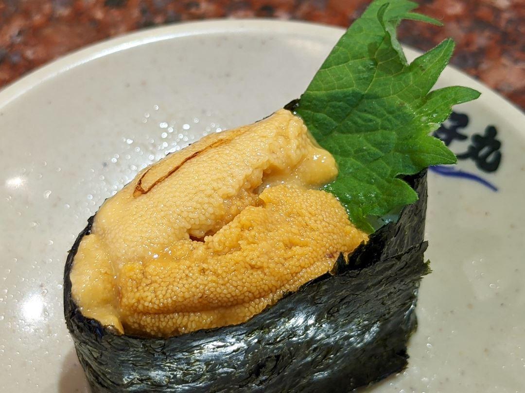 Fresh Sea Urchin 生うに - Sushi CHOUSHIMARU すし 銚子丸 - 回転寿司 鮨