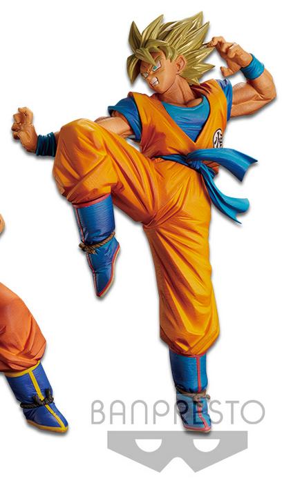 BANPRESTO Dragon Ball Z Son Goku Fes Super Saiyan Son