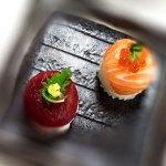 ドーム型てまり寿司