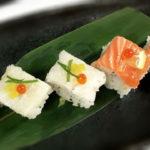 artistic box sushi photo