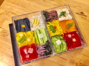 ベジタリアンモザイク寿司