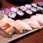 卵焼きと巻き寿司