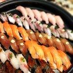 寿司うなぎとサーモン