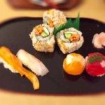 握りと手毬と巻き寿司