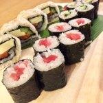 マグロとサーモンの巻き寿司