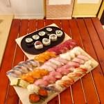 コースで作った寿司