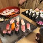 ゲストが作った寿司