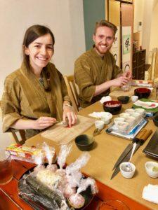 手まり寿司づくり