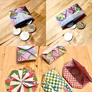折り紙コインケース
