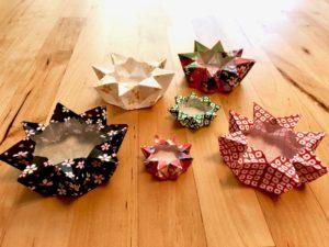 折り紙キャンドルケース