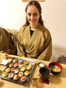 ゲストとゲスト作のお寿司