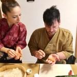 握り寿司づくり