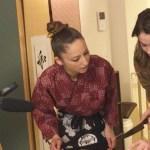 寿司クラス撮影風景
