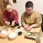 極み寿司づくりコース 握り寿司づくり