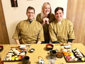 ゲストとお寿司