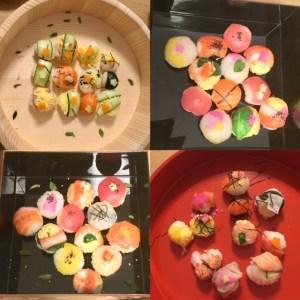 ゲスト作手まり寿司