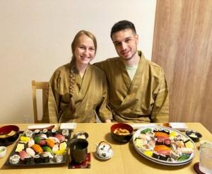 寿司とゲスト