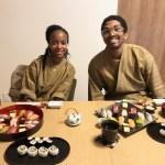 美しい寿司とゲスト