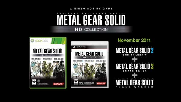 Metal Gear Solid HD Collection Poster
