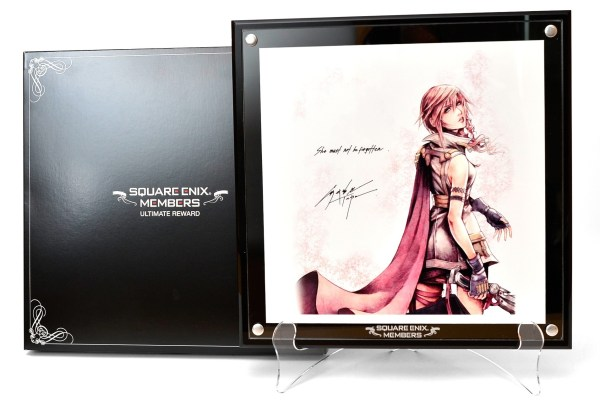 Ultimate Square Enix Members Receive Exclusive Lightning Artwork