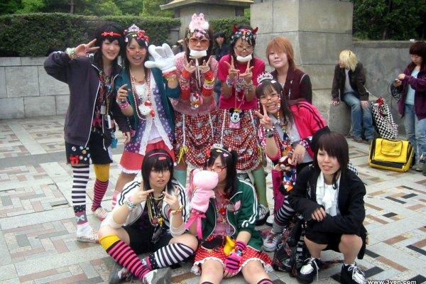 Harajuku Fashion Walk #11, Fashion In Tokyo Summer