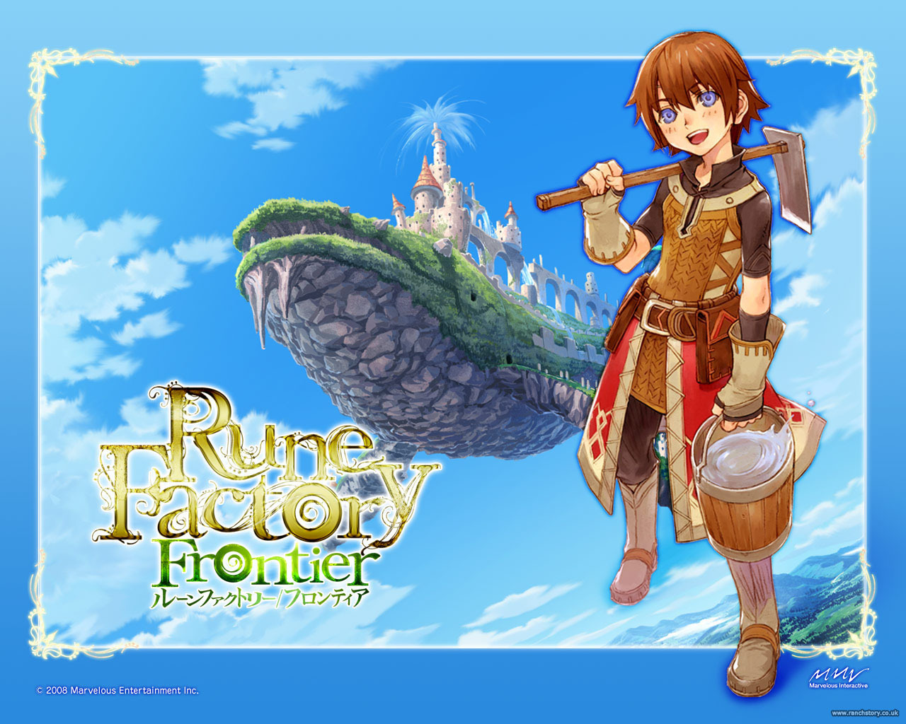 Rune Factory 4 Trailer