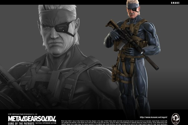 Play Arts Solid Snake Figure