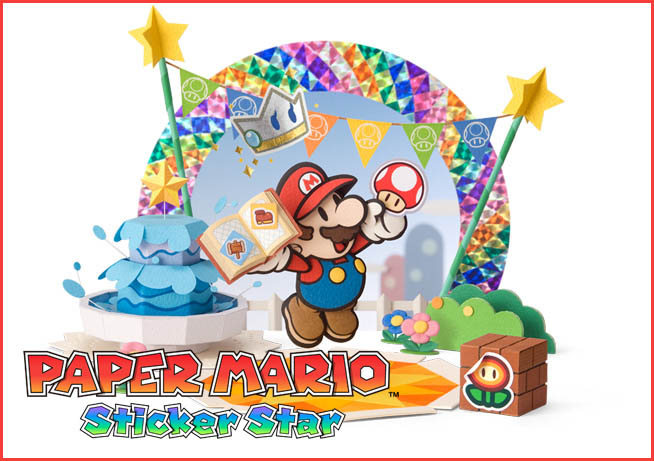 Paper Mario Sticker Star Trailer Gives Game New Look