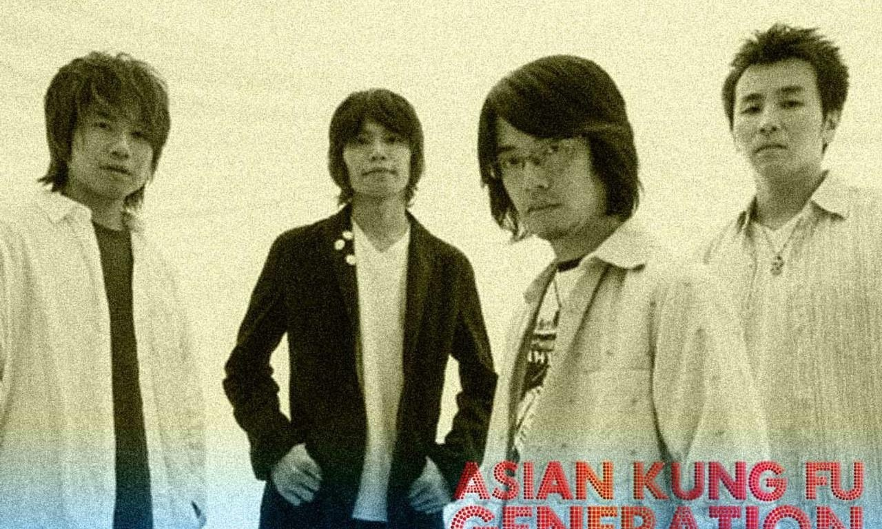 Asian kung fu generation road