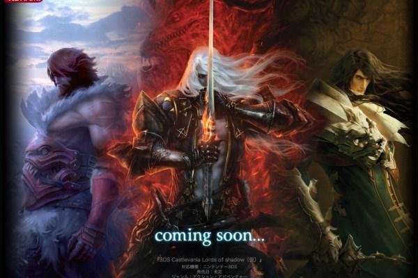 Konami Announces Castlevania Lords Of Shadow For 3DS