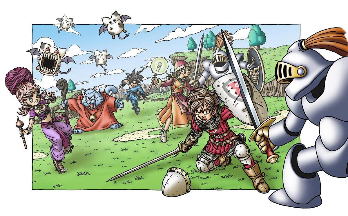 Wii U Dragon Quest Will Be Demonstrated At Tokyo Game Show