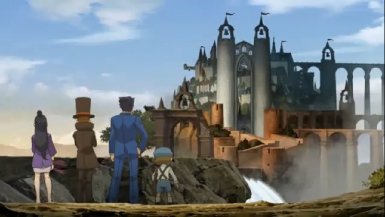 Sixty Minutes Of Professor Layton VS Phoenix Wright