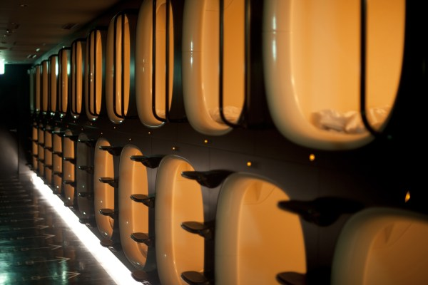 First Class Capsule Hotel For Akihabara