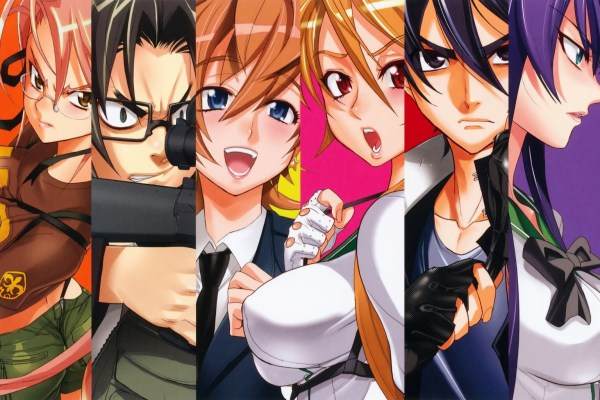 High School Of The Dead To Go Digital