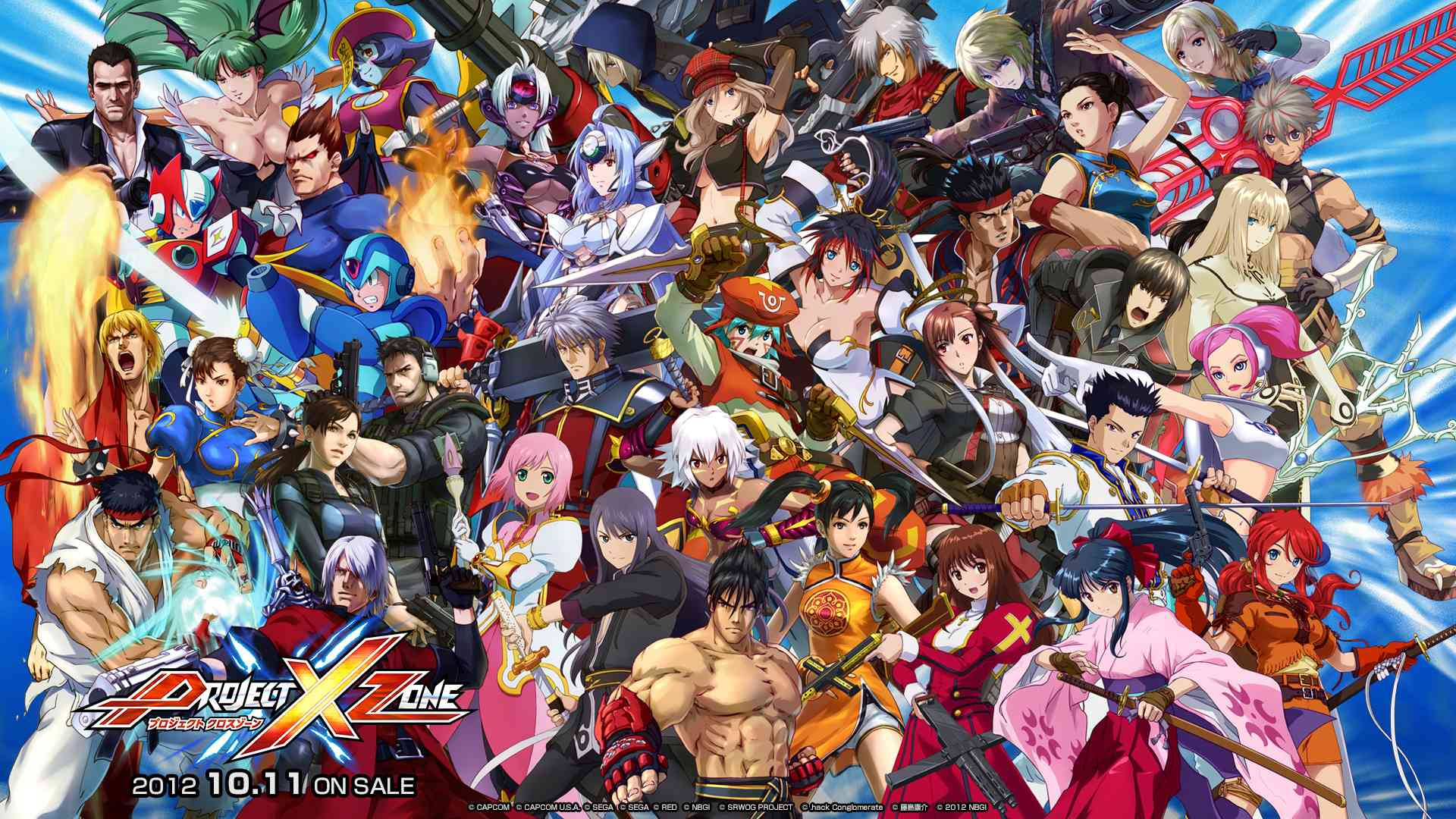 2nd demo for Project X Zone in July