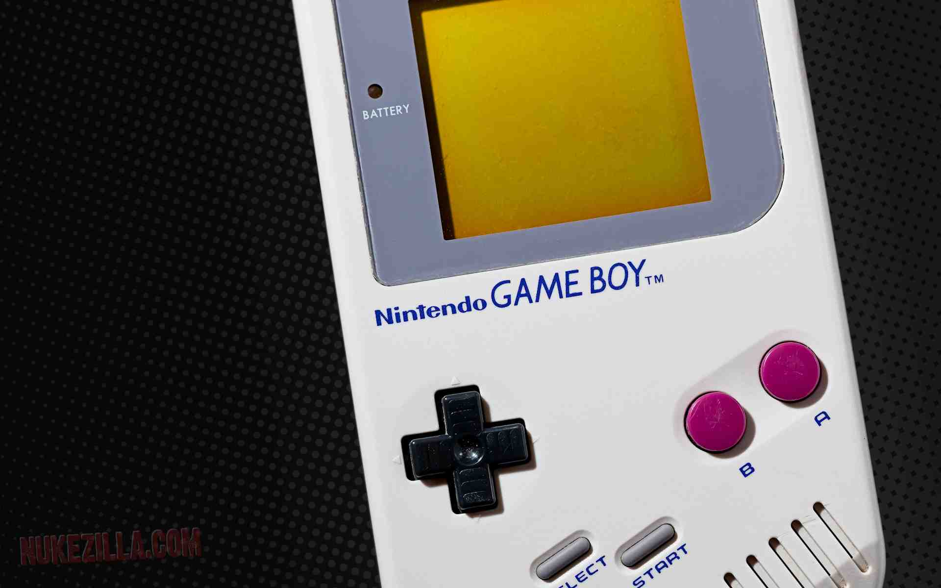 Giant Gameboy suitcase