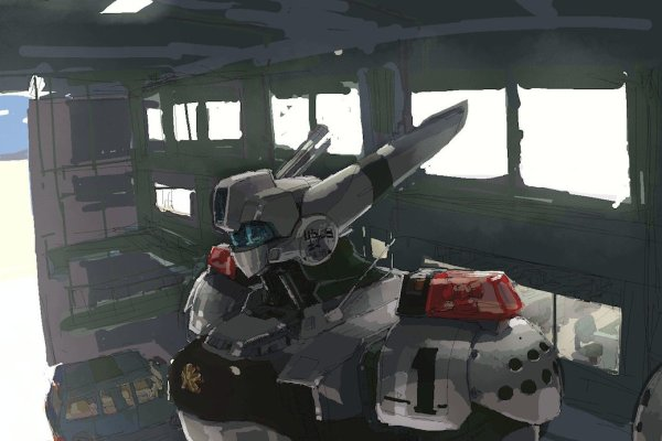 Patlabor Mecha Goes Up In Japan