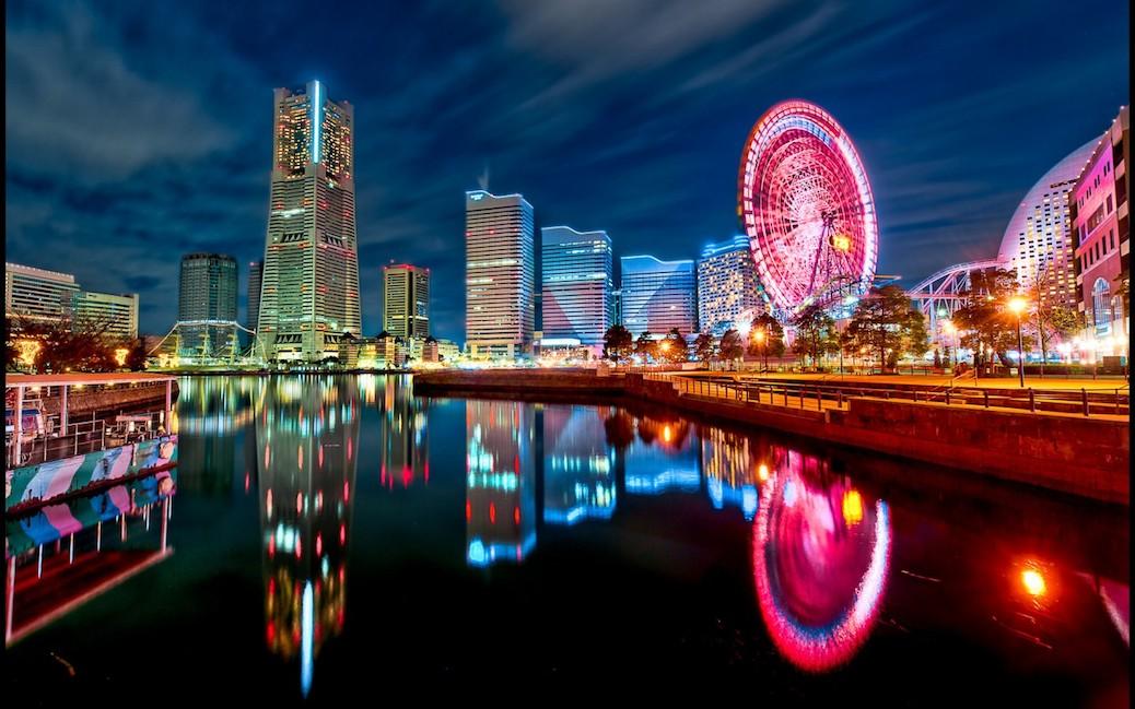 Stunning Time Lapse Of Yokohama