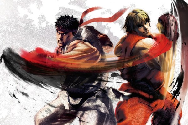 Some Cool Bowing Streetfighter Characters