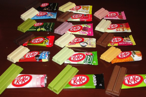 Sake Flavoured Kit Kats For Japan