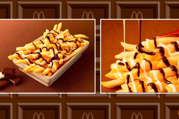 Japan Introduces McDonald's Chocolate French Fries