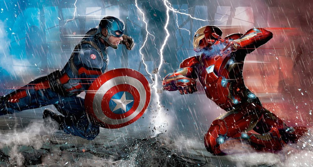 Captain America/Iron Man Ramen Hits Japan
