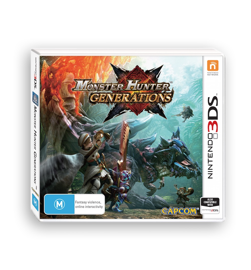 Review – Monster Hunter Generations (3DS)